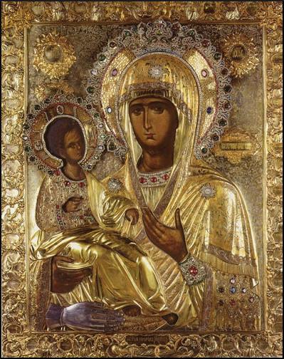 Икона-Божией-Матери-Троеручица